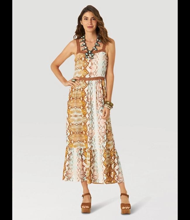 Wrangler Sleeveless Maxi Dress