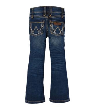 Wrangler Girls Patch Boot Cut Jeans