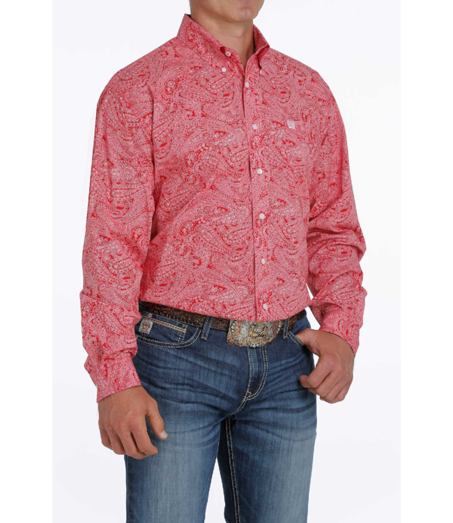 Cinch Classic Fit Stretch Paisley Shirt