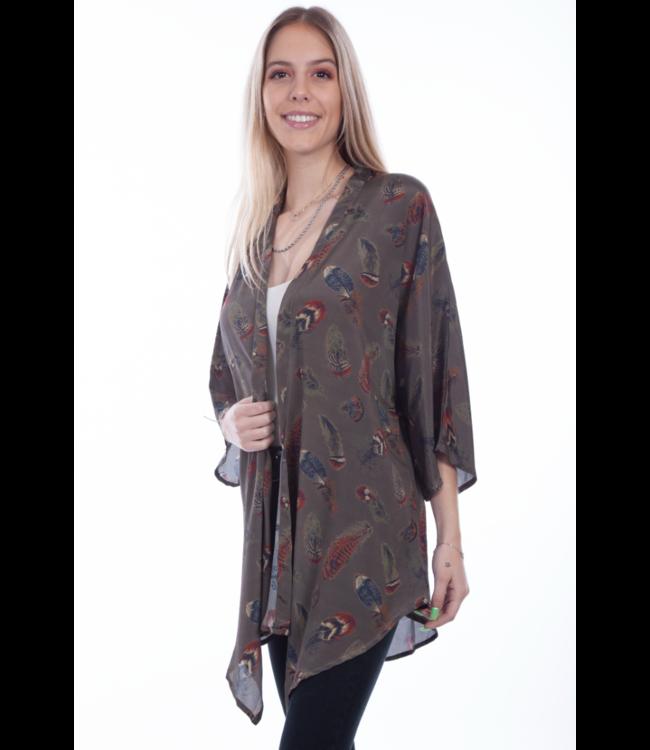 Scully Feather Kimono