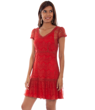 Scully Cap Sleeve Lace Dress, Multiple Color Options