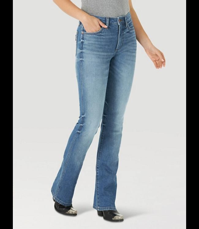 Wrangler Retro High Rise Slim Boot Cut Jeans