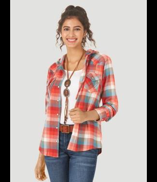 Wrangler Western Hooded Shirt