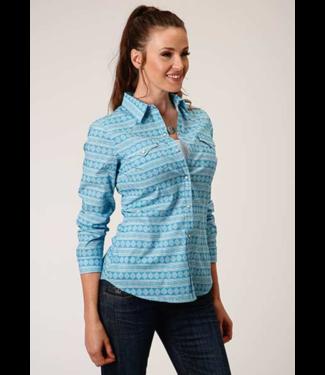 Stetson & Roper Apparel Roper Fitted Print Shirt