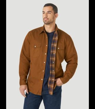 Wrangler Lined Flannel Workshirt
