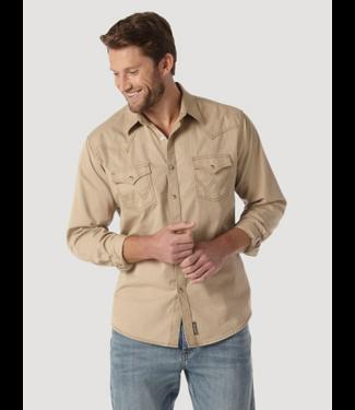 Wrangler Retro Premium Solid Shirt, Multiple Color Options
