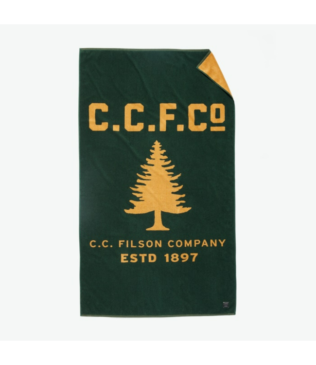 Filson Pine Tree Towel