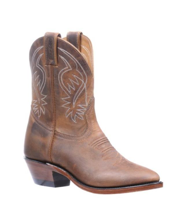 """Boulet 9"""" Shorty Cowboy Toe Boots"""