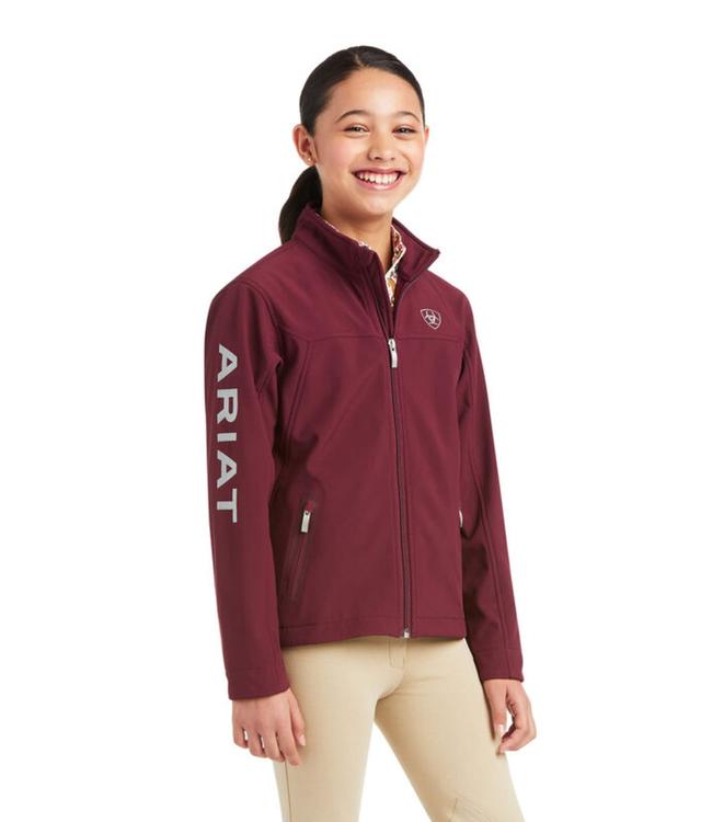 Ariat Girls Team Softshell Jacket
