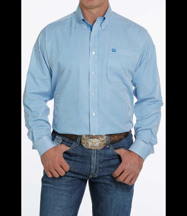 Cinch Tencel Classic Fit Stripe Shirt