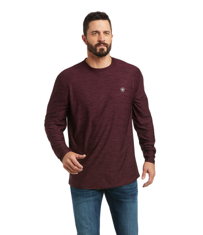 Ariat Long Sleeve Charger Logo Tee