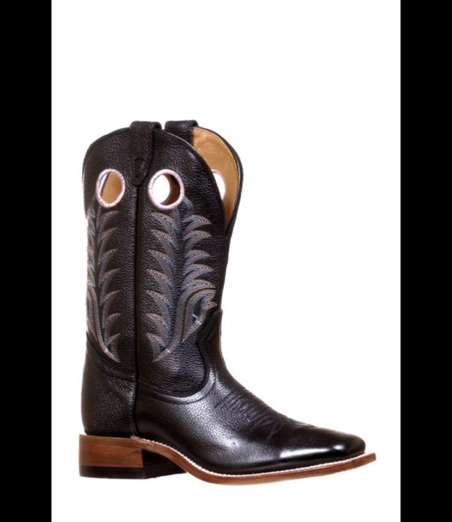 Boulet Challenger Square Toe Boots, Black