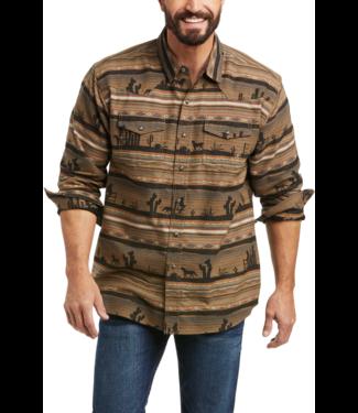 Ariat Hawthorne Retro Fit Print Shirt