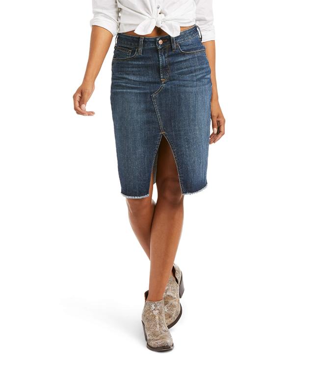 Ariat Denim High Rise Skirt