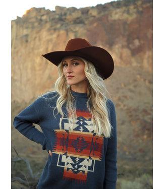 Pendleton Graphic Cotton Sweater, FINAL SIZE LG