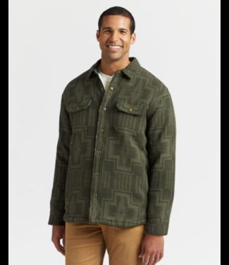 Pendleton Jacquard Sherpa-Lined Shirt Jacket