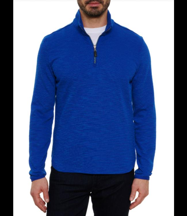 Robert Graham Allman 1/4 Zip Waffle Knit Sweater