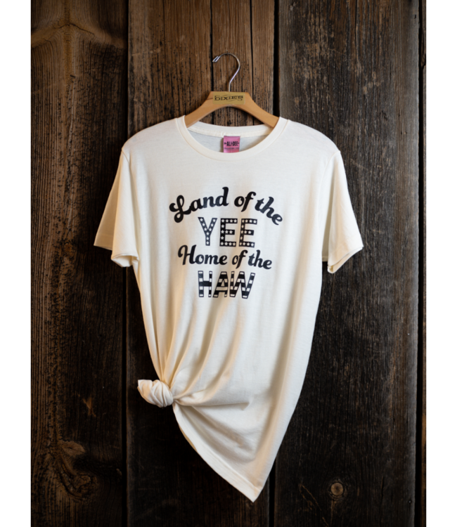 Ali Dee Land of the Yee, Home of the Haw Tee White