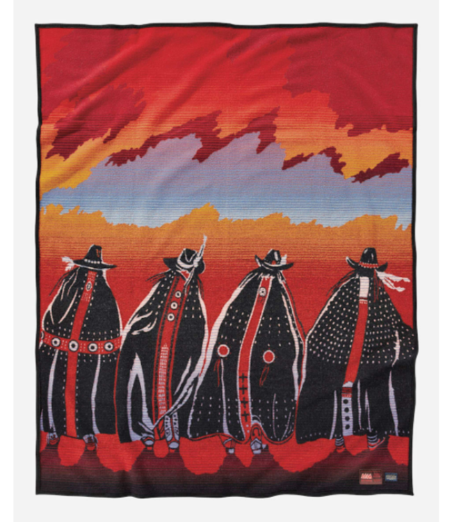 Pendleton Rodeo Sisters Blanket, Legendary Collection: Robe