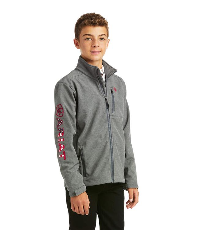 Ariat Boys Logo 2.0 Softshell Jacket