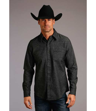Stetson & Roper Apparel Stetson Fitted Twill Flannel