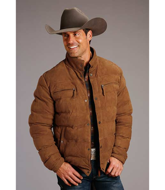Stetson Suede Puffy Jacket