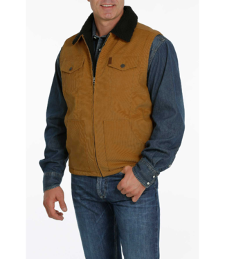 Cinch Sherpa Lined Corduroy Vest