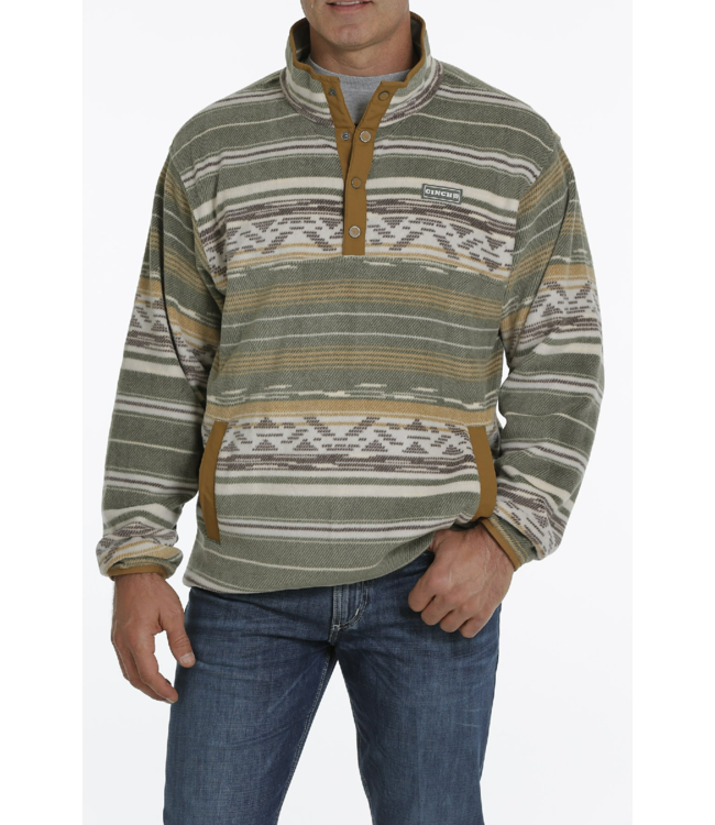 Cinch Polar Fleece Pullover Sweater