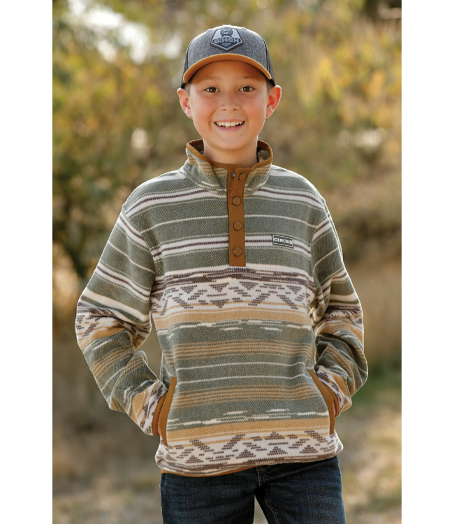 Cinch Boys Polar Fleece Pullover Sweater