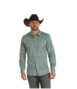 Panhandle Slim Fitted Dale Brisby Shirt