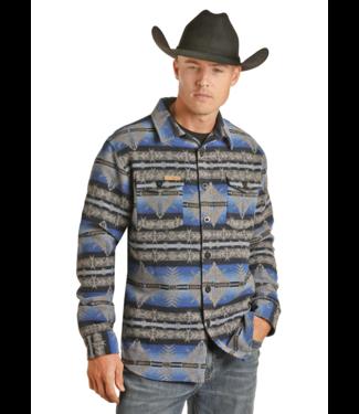 Panhandle Slim Aztec Wool Shirt Jacket