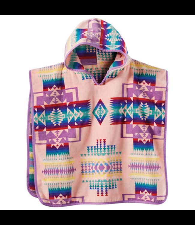 Pendleton Chief Joseph Hooded Towel, Pink