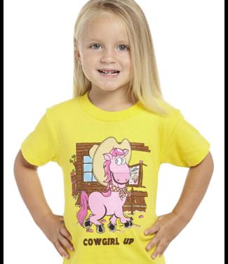 Cripple Creek Girls Cowgirl Up Short Sleeve Tee