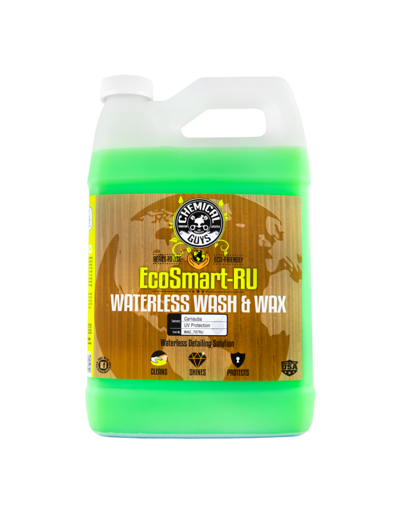 Chemical Guys WAC_707RU Ecosmart-RU- Waterless Detailing System-Ready To Use (1 Gallon)