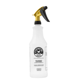 Chemical Guys ACC_136 Acid Resistant Gold Standard Trigger Sprayer & Professional Bottle (32 oz)
