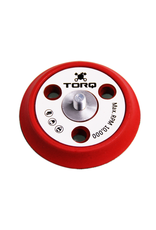 TORQ Tool Company BUFLC_200 TORQ R5 Dual-Action Red Backing Plate With Hyper Flex Technology (3 Inch)