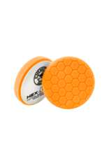 "Hex-Logic BUFX_102HEX5 5.5"" Hex-Logic Pad Orange 5.5"" Medium-Heavy Cut Scratch & Swirl Remover Pad- (5.5""Inch)"
