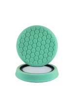 "Hex-Logic BUFX_103HEX 7.5"" ""Self Center"" Hex-Logic Pad Green Light Cut-Heavy Polish Minor Scratch & Swirl Remover Pad- (7.5""Inch)"