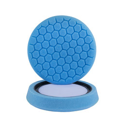 """Hex-Logic BUFX_105HEX 7.5""""  """"Self Center"""" Hex-Logic Blue Light Cleaning, Glazes And Gloss Enhancing Pad (7.5""""Inch)"""