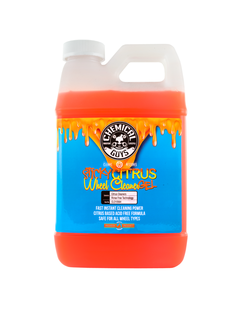 Chemical Guys CLD10564 Sticky Gel Citrus Wheel Cleaner (64 oz)