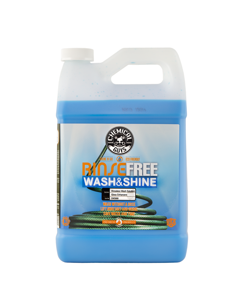 Chemical Guys CWS888 Rinse Free EcoWash- The Hose Free Car Wash (128 oz - 1 Gal)