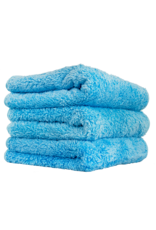"Chemical Guys MIC32103 Shaggy Fur-Ball Premium Detailing Microfiber Towel, Blue 16"" X 16"" (3 Pack)"