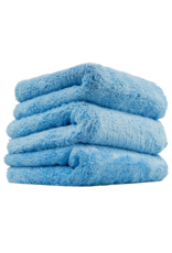 "Chemical Guys MIC35003 Happy Ending Edgeless Microfiber Towel, Blue 16""X16"" (3 Pack)"