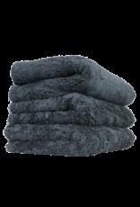 Chemical Guys MIC35703 Happy Ending Edgeless Microfiber Towel Black - (3 Pack)