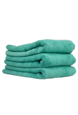 """Chemical Guys MIC36403 Workhorse Towel-Green For Exteriors Professional Grade Microfiber Towels-(16"""" X 24"""") (3-Pack)"""