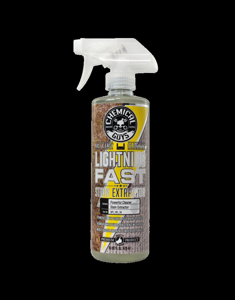 Chemical Guys SPI_191_16 Lightning Fast Carpet+Upholstery Stain Extractor Cleaner & Stain Remover (16 oz)