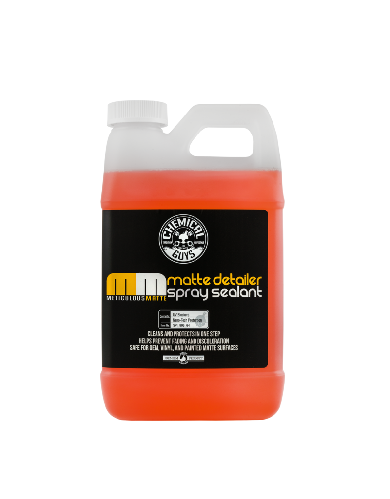 Chemical Guys SPI_995_64 Meticulous Matte Detailer-For Matte Finish Paints, Vinyl & Clear Bra (1 Gal)