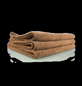 "Chemical Guys MIC35403 Workhorse Tan Professional Grade Microfiber Towel 16""X16"" (Leather & Vinyl) (3 Pack)"