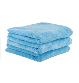 Chemical Guys MICMBLUE03 The Workhorse Towel Professional Grade Microfiber Towels, Blue (3 Pack)