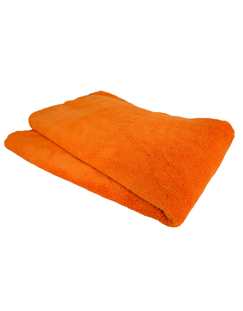 "Chemical Guys MIC_725 Premium Car Drying Microfiber Towel, Orange 25"" X 36"""